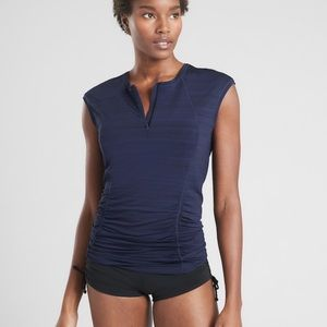 Athleta Pacifica Contoured Tank Size Small